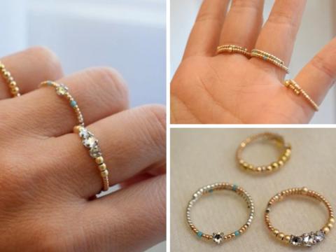 anillos hechos a mano