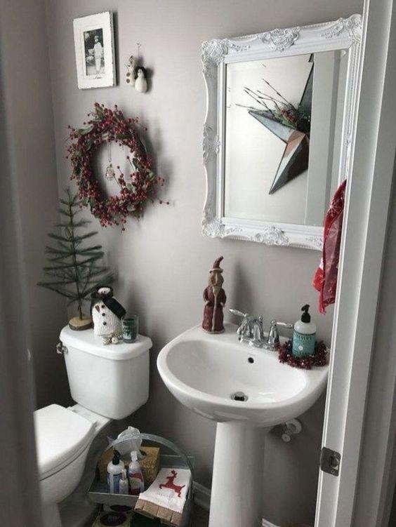 Cómo Decorar Tu Cuarto De Baño Para Navidad. ¡Aquí 10 ...