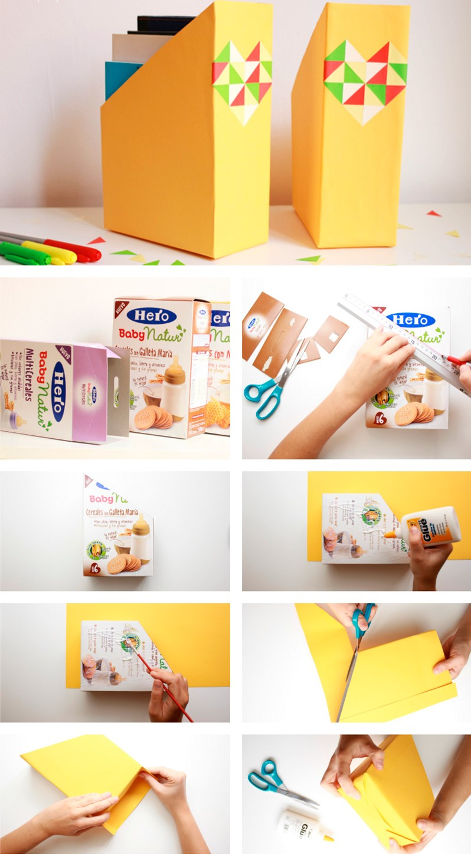 Manualidades Con Cajas De Cartón De Cereal